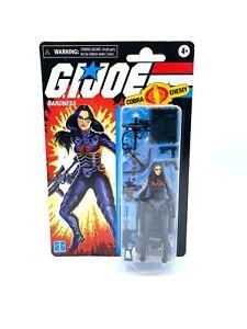 """GI Joe Retro Wave 1 BARONESS 3.75"""" Figure Walmart Exclusive New MOC #2"""