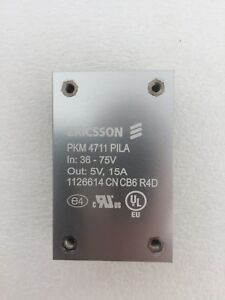 Ericsson - Isolated DC/DC Converters, Output 5VDC 15A, Input 36-75V 150W BP PKM