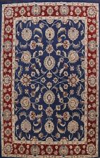 10'x13' Floral Oriental Area Rug Hand-Tufted Wool Living Room Traditional Carpet