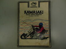Clymer Repair Manual for Kawasaki Z-1 1973-1974