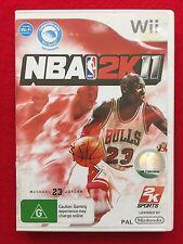 Nintendo Wii NBA 2K11