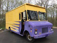 1975 Chevy step van p30 food truck