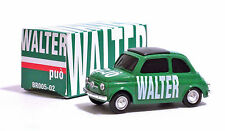 FIAT 500 VERDE 1:43 WALTER PUO' - ELECTION DAY 2008 - BRUMM - BR005-02