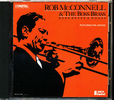 Rob McConnell - Boss Brass & Woods - Rare CD