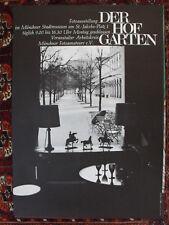 4 x Foto: IFA 1965 + Photokina 1967 + der Hofgarten + internat. Fotoausstellung