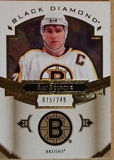 2016-17 BLACK DIAMOND HOCKEY - BLACK DIAMOND RAY BOURQUE   #75/249