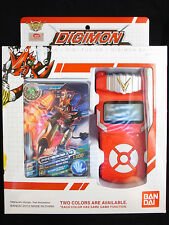 Bandai Digimon Digivice Fusion Xros Wars Loader Red Color w Card English Ver MIB
