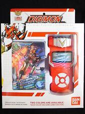 Bandai Digimon Digivice Fusion Xros Wars Loader Red Color w Card English Ver MIB
