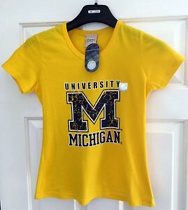 Majestic Athletic Yellow T-Shirt Tee Top * Sizes Small or Medium