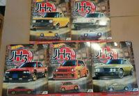 Hot Wheels Japan Historics 3  Lot de 5 (N46)