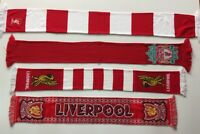 Liverpool Scarf Vintage Football Scarves The Reds England Retro Knit Anfield Old