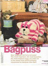 Original Alan Dart Bagpuss Toy Knitting Pattern