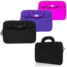 """Neoprene Sleeve Case Cover Pocket Bag Handle for Lenovo 11.6"""" 13"""" 13.3"""" Laptop"""
