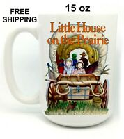 Little House on the Prairie, Birthday, Christmas Gift, white Mug 15 oz, Coffee