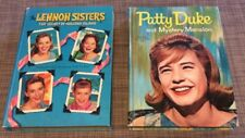 Whitman TV edition books -Patty Duke 1964, Lennon Sisters 1960, Nice Condition