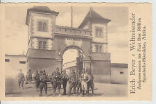 """Erich Beyer [Weltreisender] - AK """"Im Legionslager zu DAR RIFFIEN"""", Marokko 1927"""