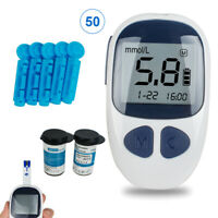 Blood Glucose Starter Kit Glucometer Sugar Meter Monitor Diabetes + test strips