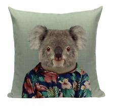 Koala Animal A1 Cushion Pillow Cover Portrait Zoo Mammal Formal Serious Cute