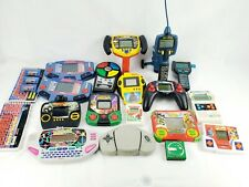 Vintage Handheld Electronic Video Game Lot Resell Tiger Mattel Untested 80's