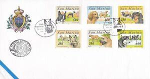 SM107) San Marino 1994 International Dog Show