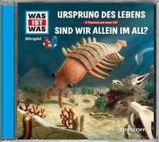 CD * WAS IST WAS - FOLGE 60 - URSPRUNG DES LEBENS / ALLEIN IM ALL? # NEU OVP !