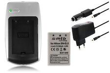 Baterìa+Cargador EN-EL5 ENEL5 para Nikon Coolpix P100, P5000, P5100, P6000, S10