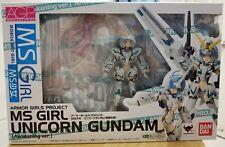 New Premium BANDAI Armored Girls Project MS Girl Unicorn Gundam Awakening Ver
