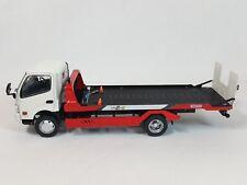 1:43 Kyosho Hino Dutro 2G Kyokuto Flatop Flat Top Zero II Transporter Tow Truck