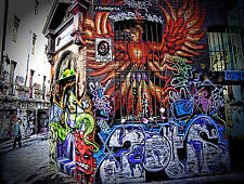 Hosier Lane Melbourne Street Graffiti Canvas Print Photo Australia Urban 36""
