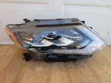 17 18 NISSAN ROGUE FRONT RIGHT PASSENGER SIDE LED HEADLIGHT OEM