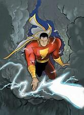 Vintage 2007 Shazam poster Art by Jeff Smith never previously displayed 24 x 36