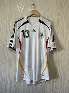 GERMANY 2006 2008 HOME FOOTBALL SHIRT SOCCER JERSEY ADIDAS 088339  # 13 BALLACK
