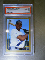 CARL CRAWFORD 1999 Topps Traded #T75 PSA 10 Graded Rookie RC Card TB DEVIL RAYS