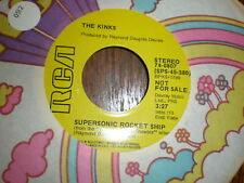 The Kinks 45 Supersonic Rocket Ship RCA PROMO