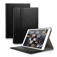 US For ipad 2 3 4 Bluetooth Keyboard Leather Case Cover &Stand A1458 A1459 A1460