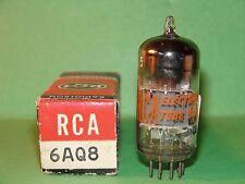 RCA 6AQ8 ECC85 Vacuum Tube V Strong Results  6200|5980 µmhos  10.0|9.8 mA