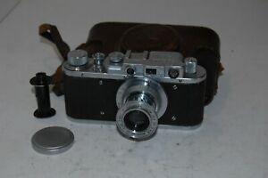 Zorki-1, Type C, EXPORT Vintage 1951 Soviet Rangefinder Camera. 180755. UK Sale