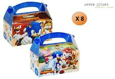 Sonic Boom Empty Favour Box Party Empty Favour Boxes 8 Pack Party Supplies