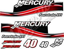 MERCURY 40hp - DECAL KIT - OUTBOARD DECALS