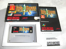 Lord of the Rings SNES juego completo con embalaje original y guía