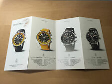 Booklet Folleto ARNOLD & SON - Montres Watches Relojes - For Collectors