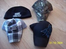 Lot of 3 hats Fox, Hurley and Redhead and 1 cap Heavy Hauler outdoor gear