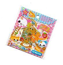 Kawaii Animal Dessert Sticker Sack stickers flakes seals Kamio Japan Scented