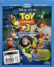 Toy Story 3 La Grande Fuga Dvd Sigillato Blu-Ray Disney Pixar
