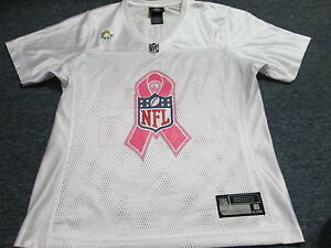 WOMEN'S NFL BREAST CANCER AWARENESS GREEN BAY PACKERS AARON RODGERS JERSEY S
