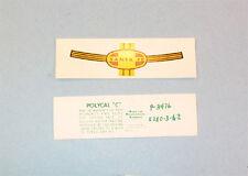 Lionel 2333-26 Santa Fe Type III Nose Decal (pair)