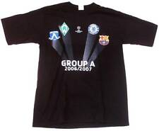 Official CHAMPIONS LEAGUE 06/07 A Werder Bremen+Chelsea+FC Barcelona T-Shirt S