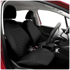 Set Completo Cubiertas de Asiento de Coche Apto Nissan Note-Negro (MP1)