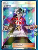 GUZMA Full Art Pokemon TCG Online - Digital Card - PTCGO