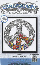 """Embroidery Kit ~ Design Works Zenbroidery """"Peace"""" #DW4010"""